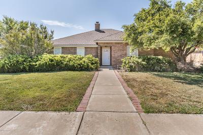 Amarillo Single Family Home For Sale: 6001 Hampton Dr