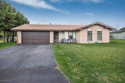 Panhandle Single Family Home For Sale: 309 Pecan