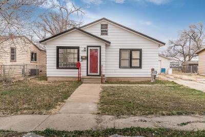 Amarillo Single Family Home For Sale: 2507 Pierce St