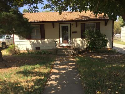 Amarillo Single Family Home For Sale: 4636 Bowie St