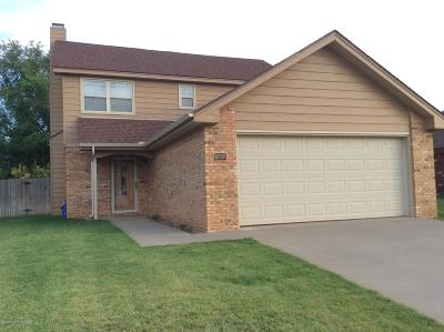 Amarillo Single Family Home For Sale: 6707 Admiral Ct