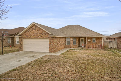 Amarillo Single Family Home For Sale: 4309 Pine St