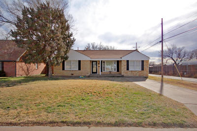 Amarillo Single Family Home For Sale: 3403 Westlawn Ave