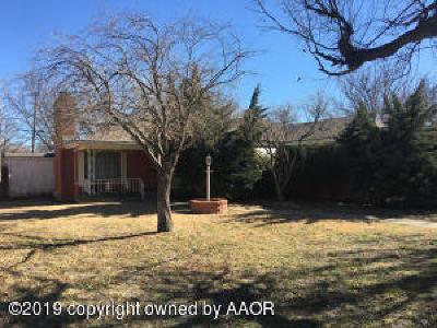 Amarillo Single Family Home For Sale: 3515 Paramount Blvd