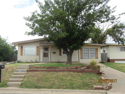 Borger Single Family Home For Sale: 210 Brown