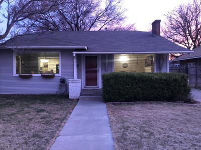 Amarillo Single Family Home For Sale: 3709 Fountain Ter