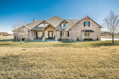 Amarillo Single Family Home For Sale: 6700 Big Boulder Rd
