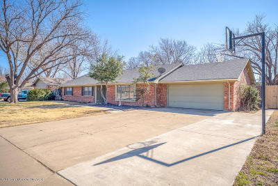Amarillo Single Family Home For Sale: 5505 Brinkman Dr