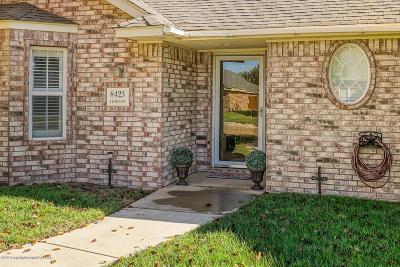 Randall County Single Family Home For Sale: 8423 Addison Dr