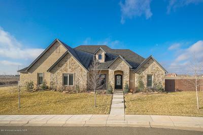 Amarillo Single Family Home For Sale: 6508 Tatum Cir