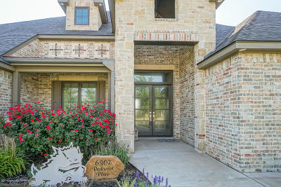 Amarillo Single Family Home For Sale: 6307 Parkwood Pl