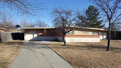 Amarillo Single Family Home For Sale: 3515 Fleetwood Dr
