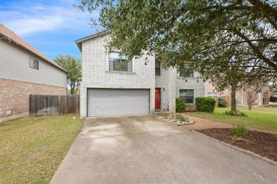 Cedar Park Single Family Home For Sale: 1117 Welch Way
