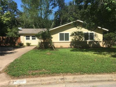 Austin Single Family Home For Sale: 1710 Saint Albans Blvd