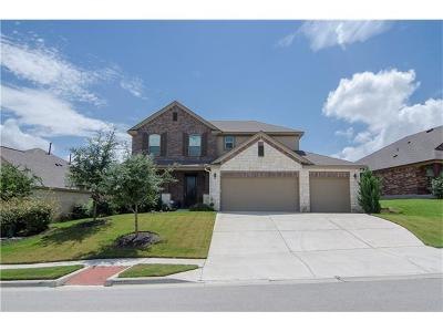 Pflugerville Single Family Home For Sale: 1901 Meandering Meadows Dr