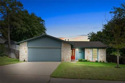 Pflugerville Single Family Home For Sale: 1602 Old Tract Rd
