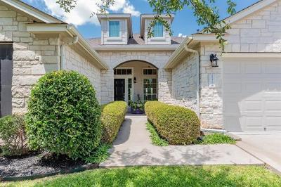 Pflugerville Single Family Home Pending - Taking Backups: 19420 Sea Island Dr