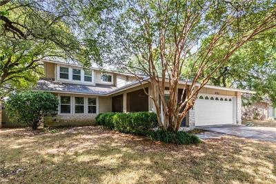 Travis County, Williamson County Single Family Home For Sale: 11606 Birchbark Trl