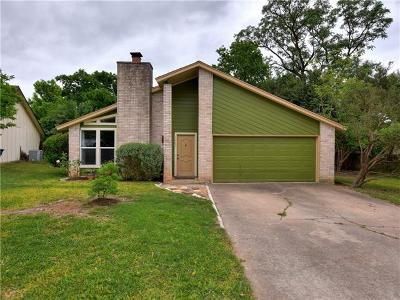 Austin Single Family Home For Sale: 3207 Oak Aly
