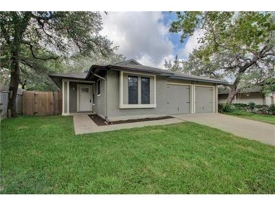 Travis County Single Family Home For Sale: 12912 Garfield Ln