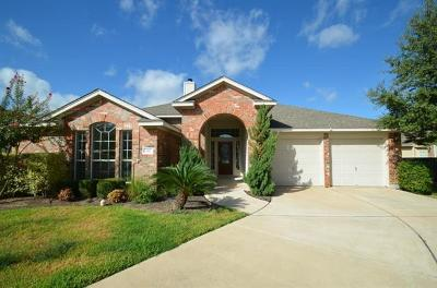 Round Rock Single Family Home For Sale: 4117 Hidden View Ct