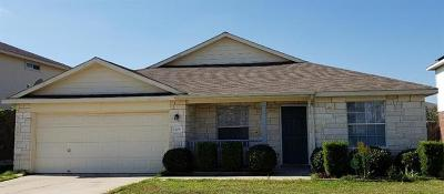 Hutto Rental For Rent: 409 Blackman Trl