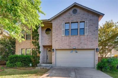 Cedar Park Single Family Home For Sale: 1106 Welch Way