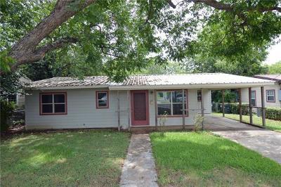 San Marcos Single Family Home Pending - Taking Backups: 1249 W Hopkins St