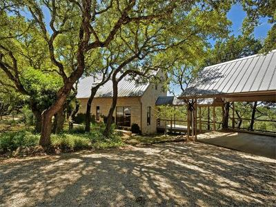Wimberley Single Family Home Active Contingent: 301 Caliche Rd