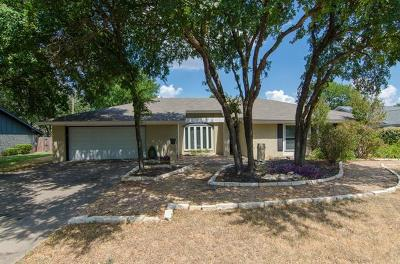 Round Rock Single Family Home For Sale: 1205 Abbey Rd
