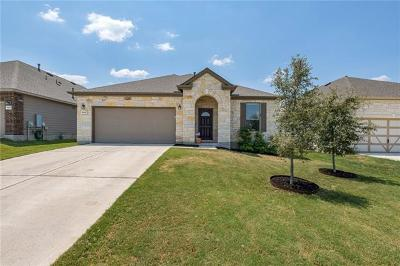 Round Rock Single Family Home For Sale: 5805 Parma St