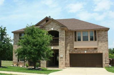 Cedar Park Single Family Home For Sale: 2501 Peterson Dr