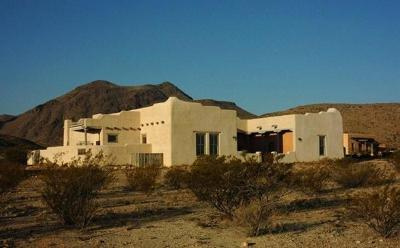 Jeff Davis County, Brewster County Single Family Home For Sale: 1030-1040 Terlingua Ranch Rd