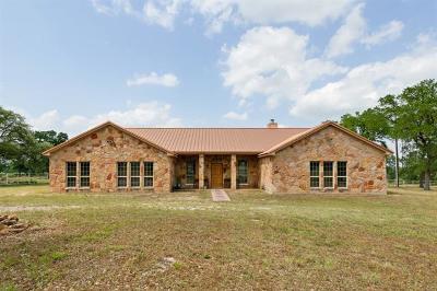 Burnet County Single Family Home Pending - Taking Backups: 900 County Road 112