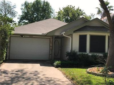Austin Single Family Home Active Contingent: 16829 Whitebrush Loop