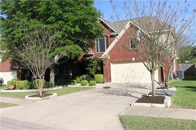 Pflugerville Single Family Home For Sale: 807 Caribou Ridge