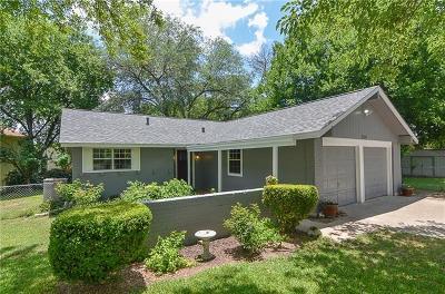 Austin TX Single Family Home For Sale: $295,000