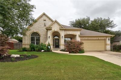 Cedar Park Single Family Home For Sale: 1727 Buttercup Creek Blvd