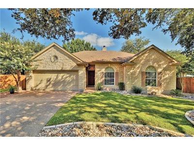 Cedar Park Single Family Home Pending - Taking Backups: 2028 Simbrah Cv