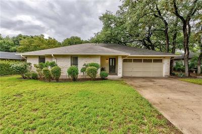 Hays County, Travis County, Williamson County Single Family Home Pending - Taking Backups: 4329 Sendero Dr
