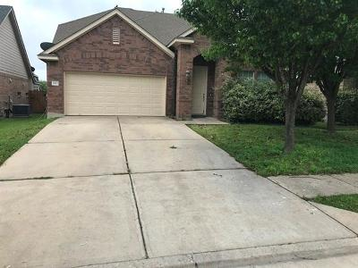 Pflugerville Single Family Home For Sale: 2833 Mission Tejas Dr