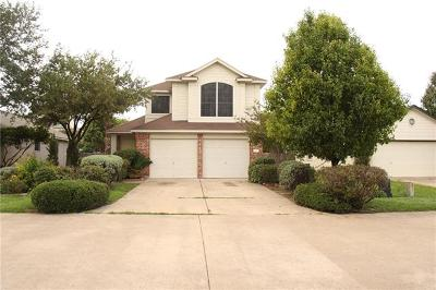 Round Rock Single Family Home For Sale: 1602 W Pflugerville Pkwy