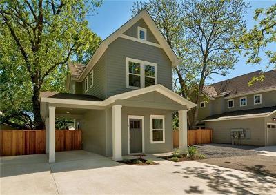 Austin Single Family Home For Sale: 5503 Jeff Davis Ave #B