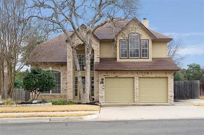 Round Rock Single Family Home For Sale: 2418 Falcon Dr