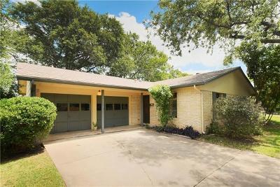 Travis County Single Family Home Pending - Taking Backups: 3112 Crosscreek Dr