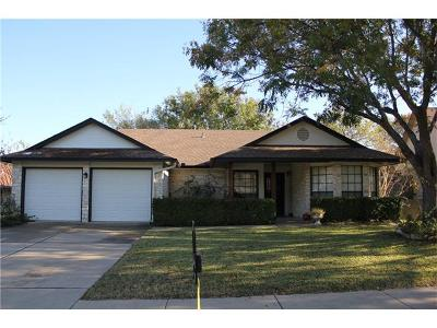 Travis County Single Family Home For Sale: 2007 Crystal Shore Dr