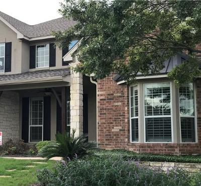 Austin Single Family Home For Sale: 15501 Belfin Dr