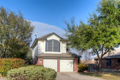 Round Rock Single Family Home Pending - Taking Backups: 1820 Chinati Mountain Trl