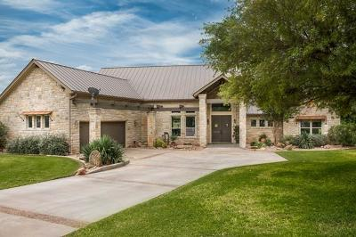 Burnet County Single Family Home For Sale: 106 Meadow Bnd