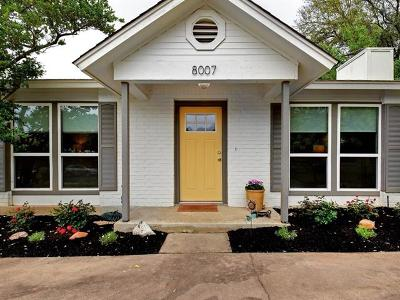 Austin Single Family Home For Sale: 8007 Burley Bnd